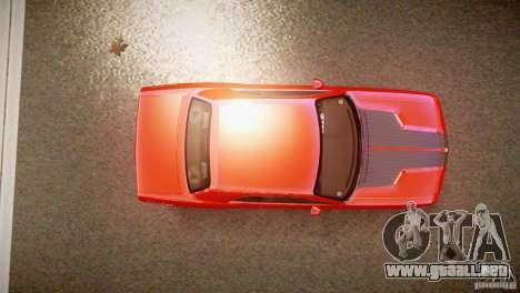Dodge Challenger RT 2006 para GTA 4 visión correcta
