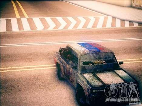 VAZ 2105 gladiador para la visión correcta GTA San Andreas