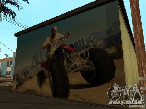 Cartel de GTA 5 para GTA San Andreas sucesivamente de pantalla