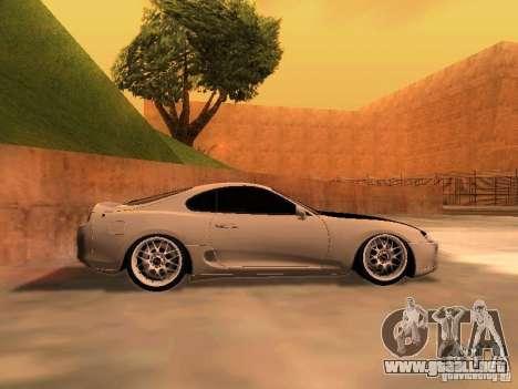Toyota Supra GTS para GTA San Andreas left