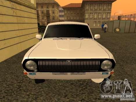 Volga GAZ 24-10 para la visión correcta GTA San Andreas