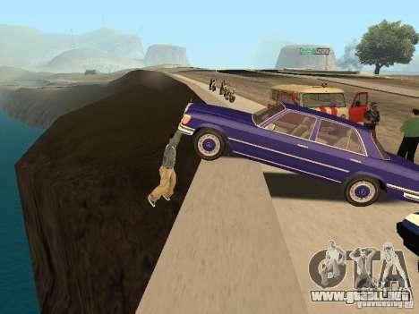 Un accidente en el puente Garver para GTA San Andreas segunda pantalla