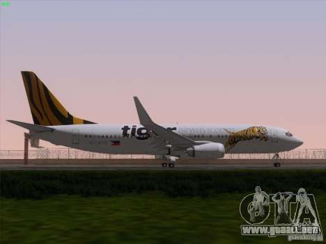 Boeing 737-800 Tiger Airways para el motor de GTA San Andreas