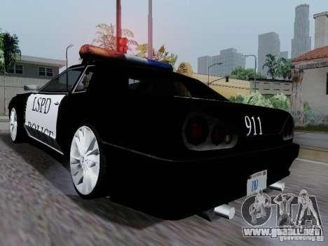 Elegy Police LS para la visión correcta GTA San Andreas