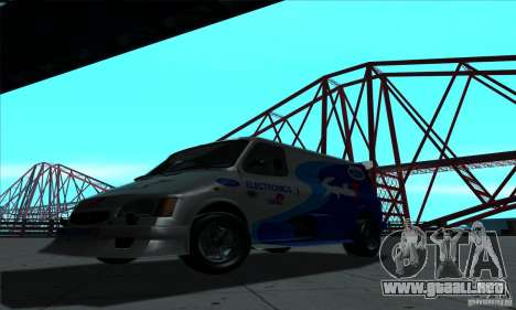 Ford Transit Supervan 3 2004 para GTA San Andreas left
