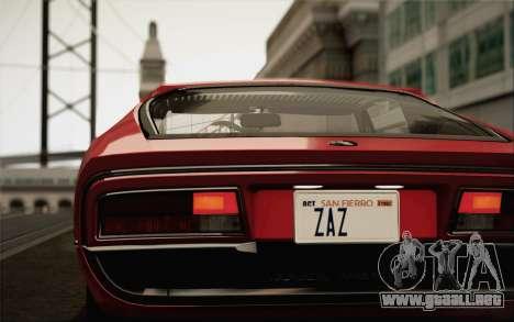 Alfa Romeo Montreal 1970 para GTA San Andreas left