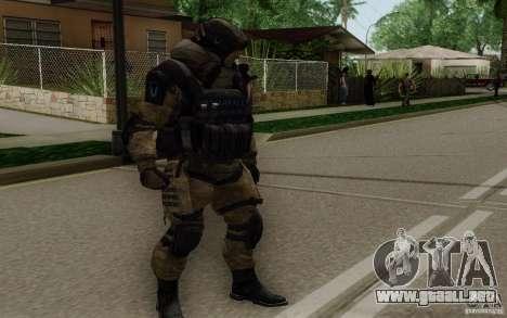 El médico de Warface para GTA San Andreas segunda pantalla