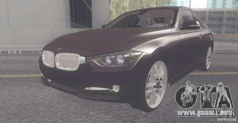 BMW 335i Coupe 2013 para GTA San Andreas