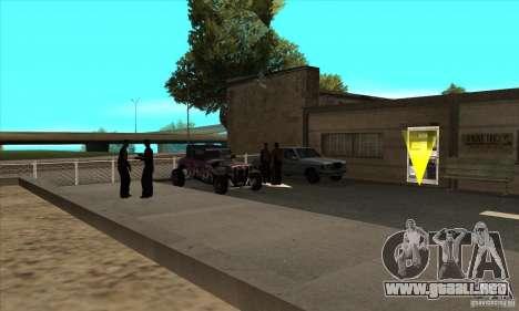 Renovación de autoescuelas en San Fierro V 2.0 F para GTA San Andreas tercera pantalla