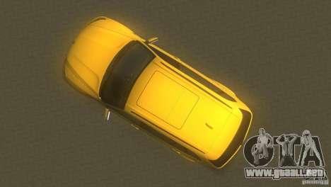 BMW X5 para GTA Vice City visión correcta