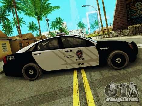 Chevrolet Caprice 2011 Police para GTA San Andreas left