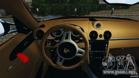 Porsche Cayman R 2012 [RIV] para GTA motor 4