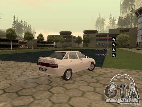 Velocímetro Lada Priora para GTA San Andreas segunda pantalla