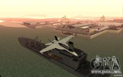 CSG-11 para GTA San Andreas tercera pantalla