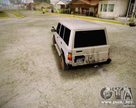 Daihatsu Taft Hiline Long para la visión correcta GTA San Andreas
