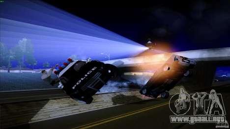 Policía dispara fuera de máquina para GTA San Andreas sucesivamente de pantalla