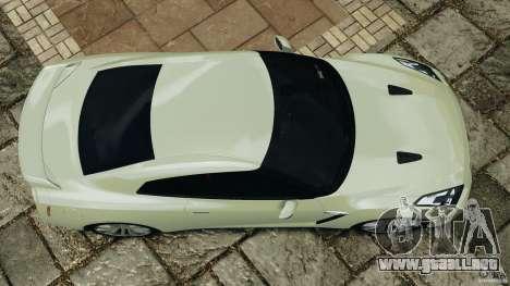 Nissan GT-R 2012 Black Edition para GTA 4 visión correcta