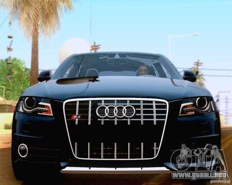 Audi S4 2010 para visión interna GTA San Andreas
