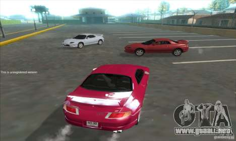 Mitsubishi FTO GP Version R 1998 para GTA San Andreas vista posterior izquierda