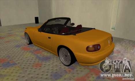 Mazda MX-5 para la visión correcta GTA San Andreas