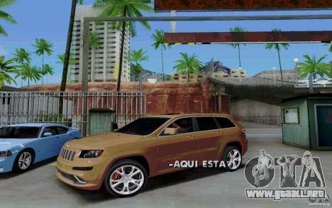 Parking (de pago) para GTA San Andreas quinta pantalla