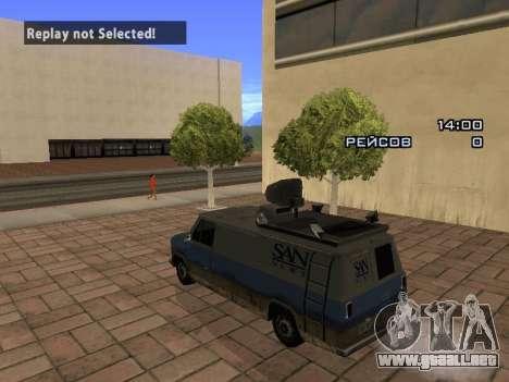Reportero para GTA San Andreas