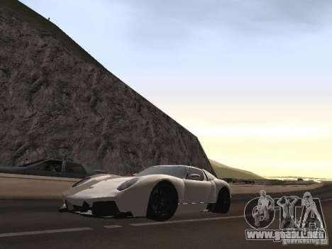 Lamborghini Miura LP670 para visión interna GTA San Andreas