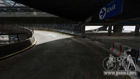 Deriva-pista en el aeropuerto para GTA 4 adelante de pantalla