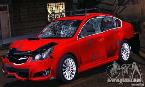 Subaru Legacy B4 2010 para GTA San Andreas interior