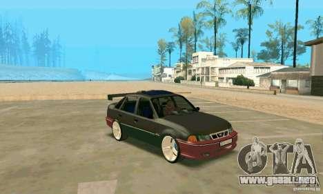 Daewoo Nexia Tuning para GTA San Andreas left