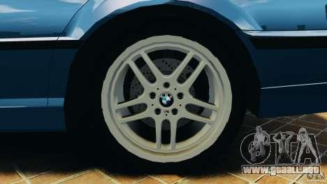 BMW 750iL E38 1998 para GTA 4 interior
