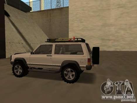 Jeep Cherokee Sport para la visión correcta GTA San Andreas