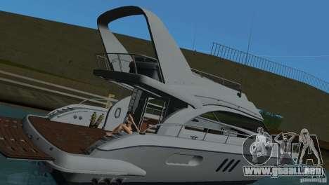 Barco para GTA Vice City vista interior