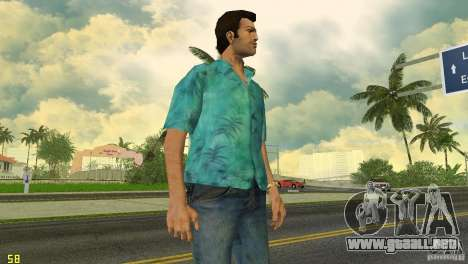 Tommy HQ Model para GTA Vice City tercera pantalla