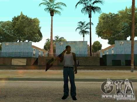 Lopatomët para GTA San Andreas sexta pantalla