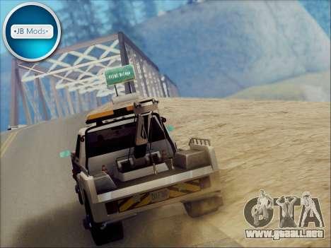 New Towtruck para la visión correcta GTA San Andreas