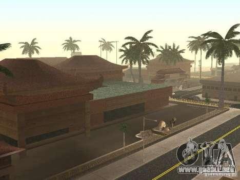 New Chinatown para GTA San Andreas segunda pantalla
