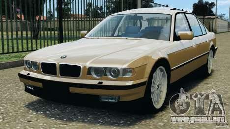BMW 750iL E38 1998 para GTA 4