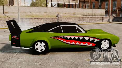 Dodge Charger RT SharkWide para GTA 4 left