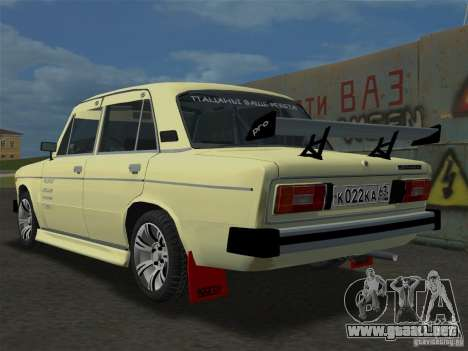 VAZ 2106 Sparco Tuning para GTA Vice City left