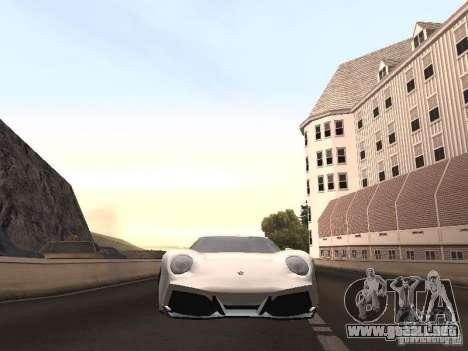 Lamborghini Miura LP670 para la visión correcta GTA San Andreas