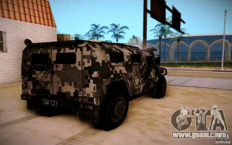 GAS 2725 de BO2 para GTA San Andreas left