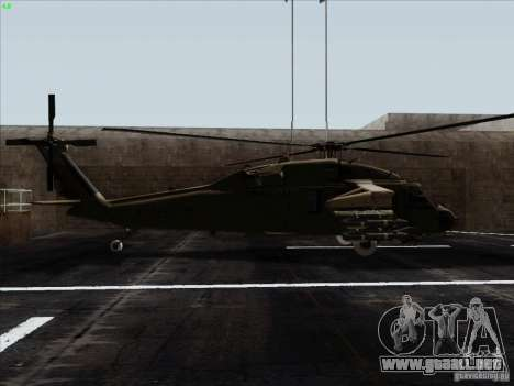 S-70 Battlehawk para GTA San Andreas left