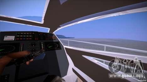 First Person Mod v2 para GTA San Andreas sexta pantalla