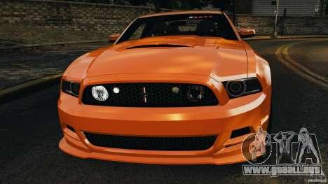 Ford Mustang 2013 Police Edition [ELS] para GTA 4 vista desde abajo