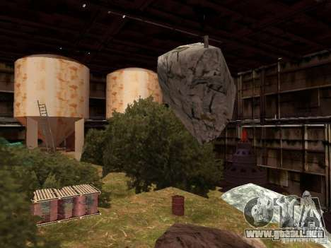 La fábrica abandonada para GTA San Andreas tercera pantalla
