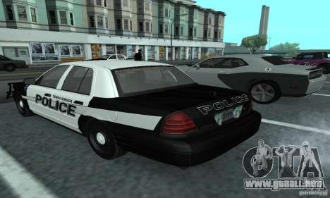 Ford Crown Victoria 2009 Slicktop para GTA San Andreas left