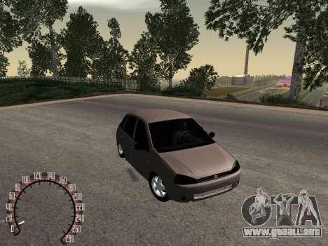 LADA 1119 para la visión correcta GTA San Andreas