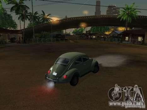 Volkswagen Beetle para la visión correcta GTA San Andreas