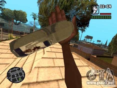 Lata de aerosol para GTA San Andreas segunda pantalla